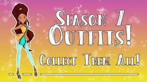 Get all the Outfits Winx Club Butterflix Adventures!