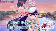 Winx Club 5 Return to Me Instrumental