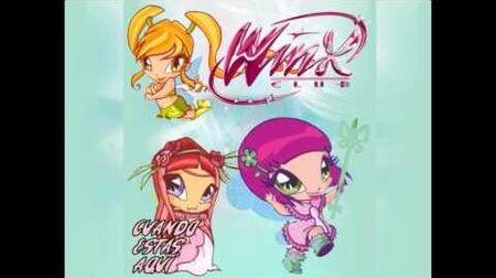 Winx en Concierto - Cuando Estás Aquí (Full Song)