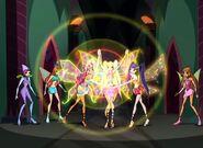 Layla, Stella y Musa Convergencia Enchantix