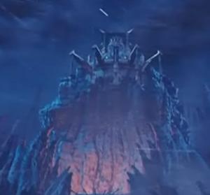 Castillo en Hoggar de la película