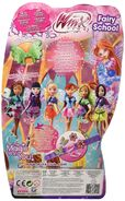 Winx Club - Fairy School Back Side of Packaging
