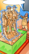 Sand Statue Spell(I64)