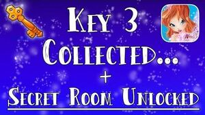 I collected Key 3 Unlocked a SECRET Room - Winx Club Alfea Butterflix Adventures!