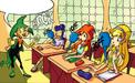 Professor Wizgiz's Class (Comix)