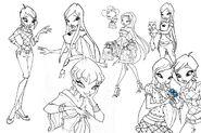 Tecna, Stella & Roxy - S4 Concepts