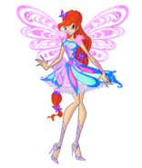 Bloom butterflix 2d by winx rainbow love-d92m2am