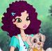 Purple hair girl 713-icon