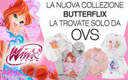 Winx Club - New Butterflix clothes from OVS store
