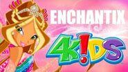 Winx Club 3 Enchantix 4KIDS FULL SONG TWO VERSIONS FEW SFX EXCLUSIVE!