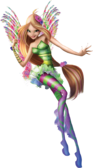 Winx Club Flora Movie Sirenix pose
