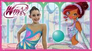 Winx Club - Magico tutorial di ginnastica ritmica Aisha
