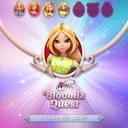 Bloomix Quest (Flora) - Byker Suit (Promo)