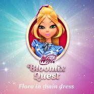 Bloomix Quest (Flora) - Main Dress (Promo)