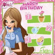 Flora - Happy Birthday - Instagram - March 1st 2018