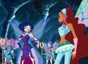 Nebula, layla and Fairy's of earth