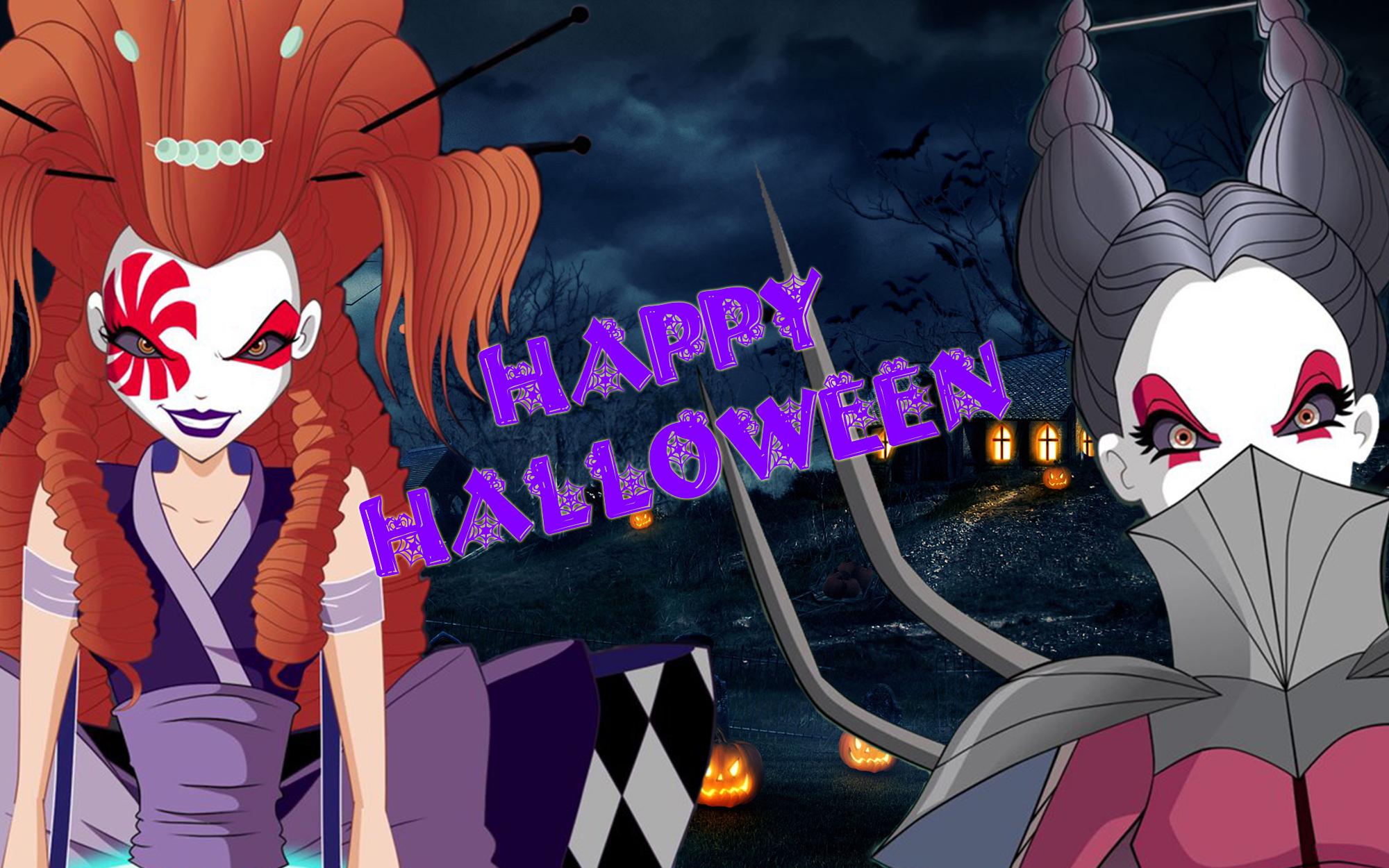 Image - Halloween Wiki Theme BG - 2017.jpg | Winx Club Wiki ...