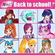 Winx Club Facebook 9-3-2016 Back to School Ideal Deskmate