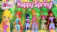 Winx Club - Happy Spring Facebook