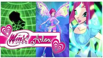 Winx Club - Tecna All Transformations