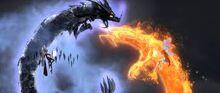 Dragon Icy vrajă