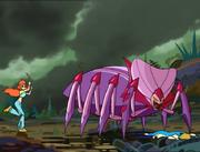Mama spider