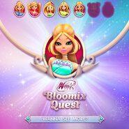 Bloomix Quest (Flora) - Regal Dress (Promo)