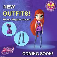 WFS - Bloom's Magical Concert Outfit (Coming Soon)