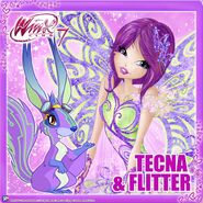 Tecna & Flitter (Instagram)