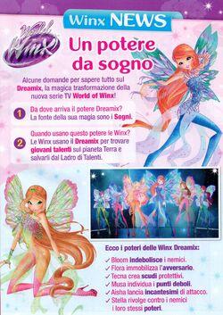 Dreamix Power List - Comics