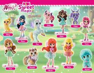 Winx Sweet Magic Collection Figures Poster