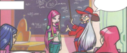 Winxclub comic issue 82 - Roxy and DuFour