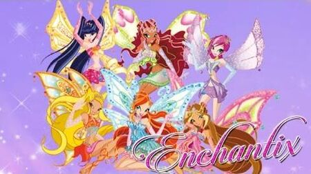 Winx Club~ Enchantix (Lyrics)