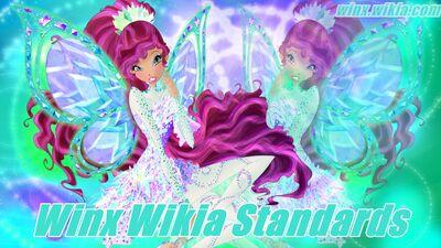 Winx Club Wiki - Winx Wikia Standards