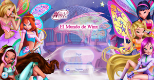 World of Winx Game Title