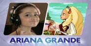 Ariana Grande y la princesa Diaspro b