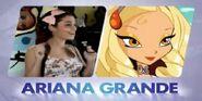 Ariana Grande y la princesa Diaspro