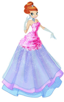 Bloom Flower Princess Outfit Full