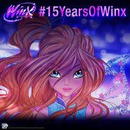 Winx 15th Anniversary - Instagram 2019