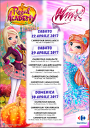Winx Club IT Carrefour Event List 2017