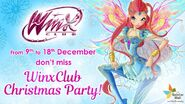 Winx Club - Don't miss the Winx Club Christmas Party at Seletar Mall! (12-8-16)