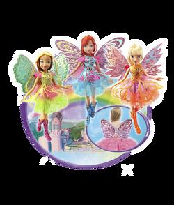 Winx Club - My Butterflix Magic Dolls Banner