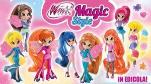 Winx Club Scopriamo insieme le Winx Magic Style!