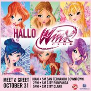 HalloWinx - Meet & Greet - October 31, 2016