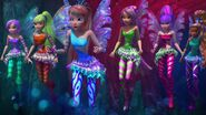 The Winx in the Coral Barrier
