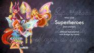 Winx Club 4 Superheroes Instumental (With Brigde!)