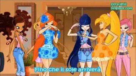 Winx Club - Party time Italiano (Lyrics)