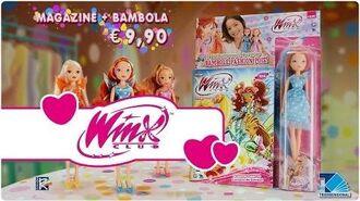 Le Bambole Winx Fashion Pois in esclusiva con il magazine Winx Club 124!