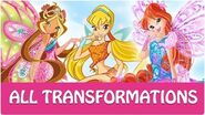 Winx Club - All Winx Full Transformations!