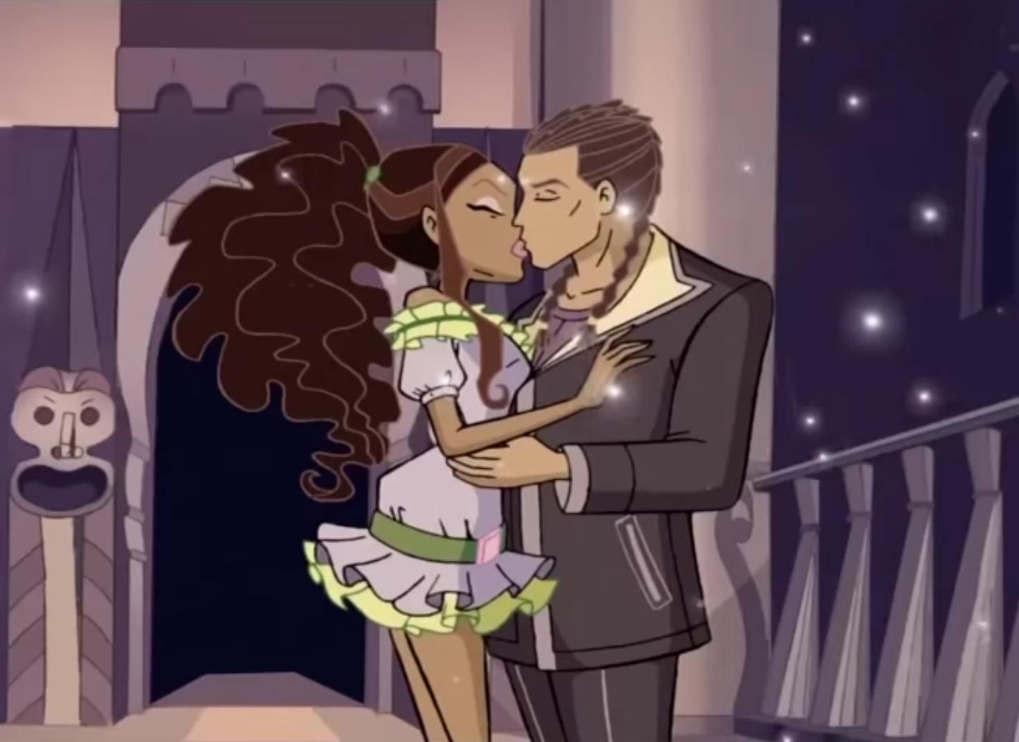 Aisha & Nabu Kiss S4E25